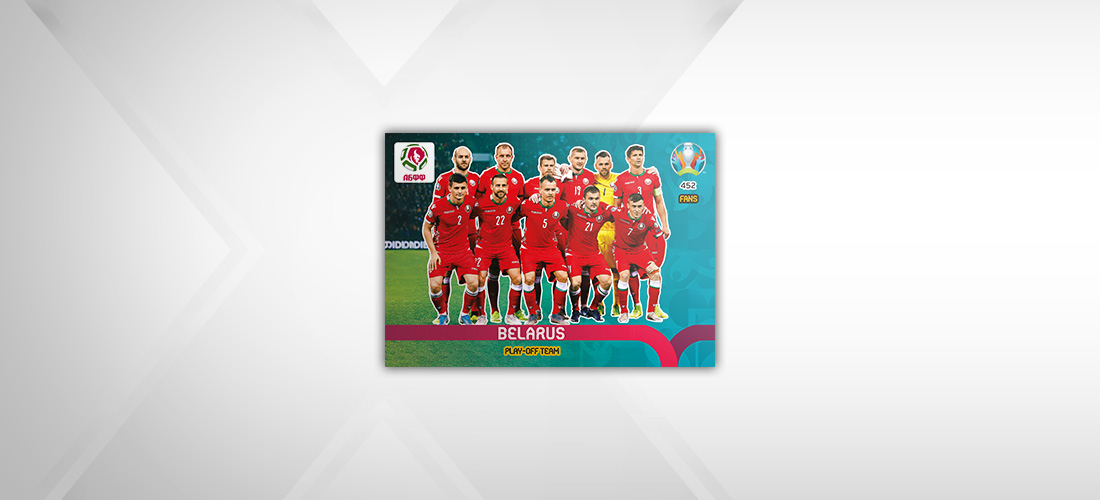 PANINI ADRENALYN XL EURO 2020 MODELE CARTE PLAY-OFF TEAM