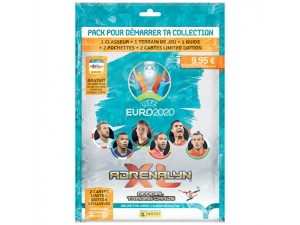 PANINI ADRENALYN XL UEFA EURO 2020 FRANCE STARTER PACK