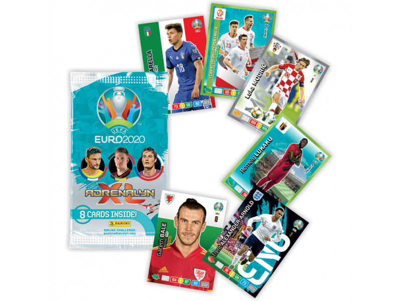 PANINI ADRENALYN XL UEFA EURO 2020 FRANCE VUE GENERALE