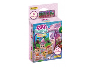 PANINI CRY BABIES MAGIC TEARS BLISTER 8 POCHETTES