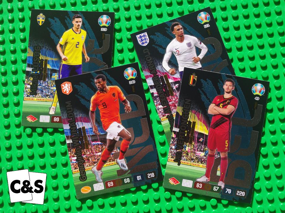 PANINI ADRENALYN XL EURO 2016 chooose votre édition limitée de liste