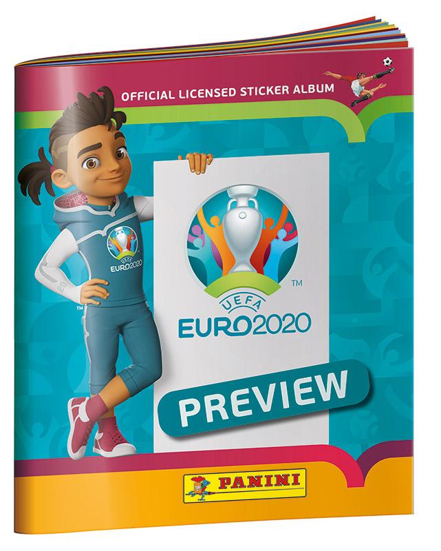 EURO 2020 PREVIEW STICKERS ALBUM