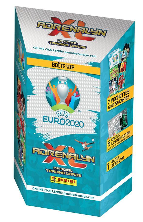 PANINI ADRENALYN XL EURO 2020 BOITE VIP
