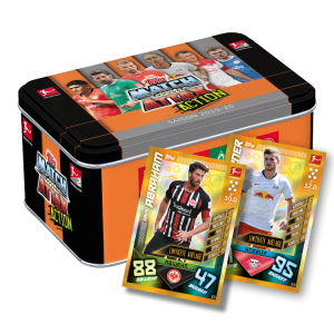 TOPPS MATCH ATTAX BUNDESLIGA 2019-20 ACTION BOITE METAL AVEC 2 LIMITED EDITION