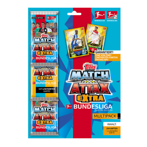 TOPPS MATCH ATTAX BUNDESLIGA 2019-20 EXTRA MULTIPACK