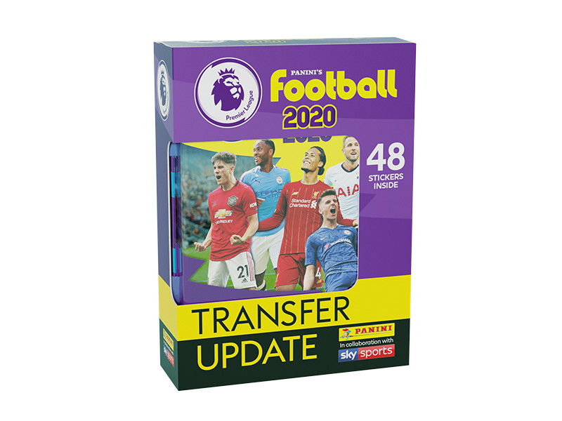 PANINI FOOTBALL PREMIER LEAGUE STICKERS 2019-20 TRANSFER UPDATE SET