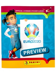 PANINI UEFA EURO 2020 PREVIEW STICKERS ALLEMAGNE ALBUM
