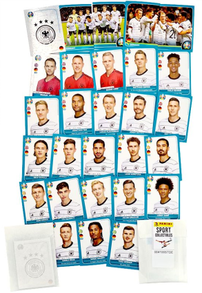 PANINI UEFA EURO 2020 PREVIEW STICKERS ALLEMAGNE STICKERS DETAILS