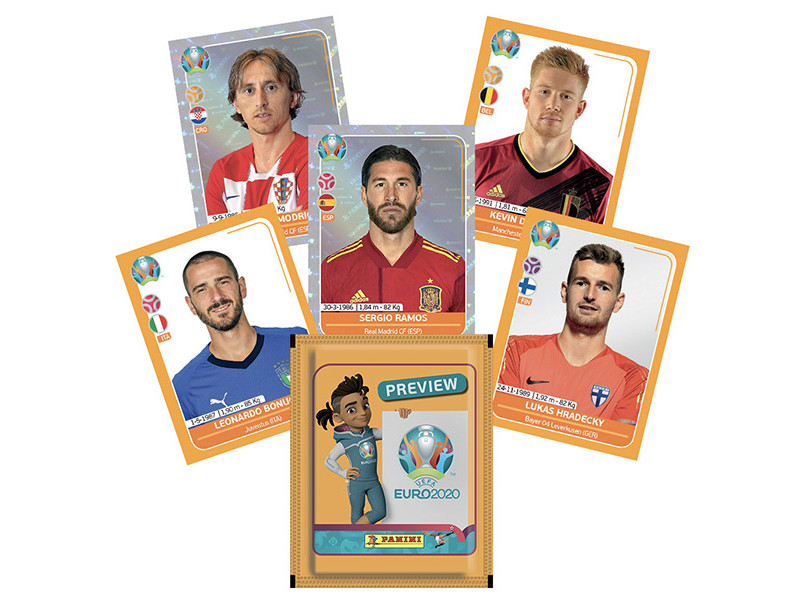 PANINI UEFA EURO 2020 PREVIEW STICKERS BELGIQUE VUE GENERALE