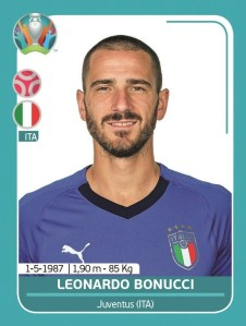 PANINI UEFA EURO 2020 PREVIEW STICKERS BONUCCI