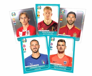 PANINI UEFA EURO 2020 PREVIEW STICKERS EXEMPLES