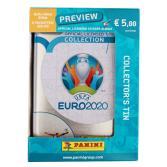 PANINI UEFA EURO 2020 PREVIEW STICKERS ORANGE BOITE METAL