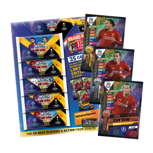 TOPPS MATCH ATTAX 101 2019-20 MULTIPACK