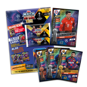 TOPPS MATCH ATTAX 101 2019-20 PACK COLLECTOR