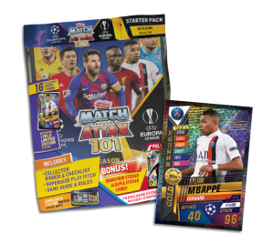 TOPPS MATCH ATTAX 101 2019-20 STARTER PACK