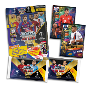 TOPPS MATCH ATTAX 101 2019-20 STARTER PACK BUNDLE