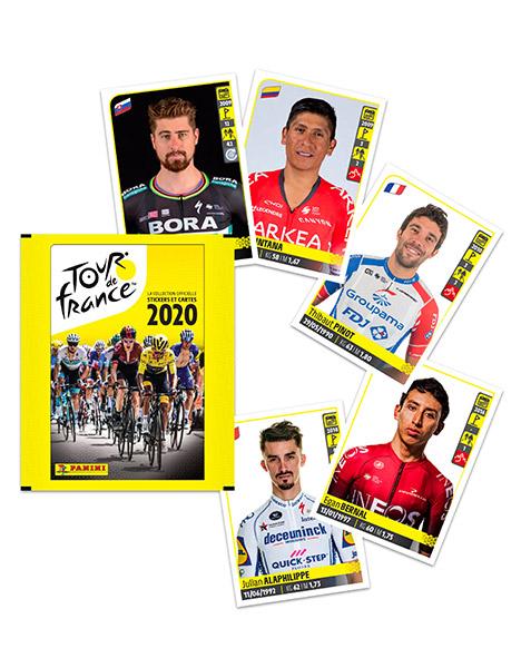 PANINI TOUR DE FRANCE 2020 VUE GENERALE