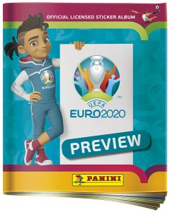 PANINI UEFA EURO 2020 PREVIEW STICKERS FRANCE ALBUM