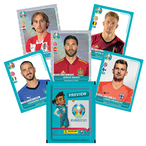 PANINI UEFA EURO 2020 PREVIEW STICKERS FRANCE EXEMPLES