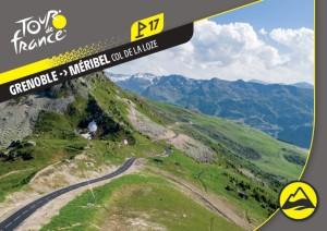 PANINI TOUR DE FRANCE 2020 CARTE ETAPE 17