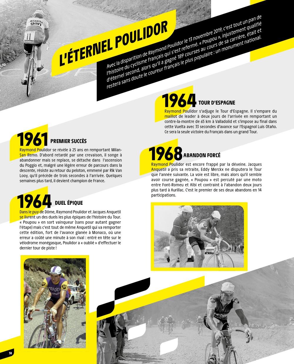 PANINI TOUR DE FRANCE 2020 PAGE 58 POULIDOR