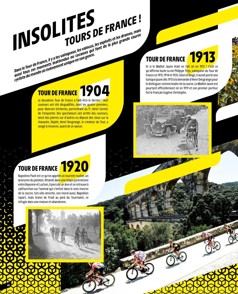 PANINI TOUR DE FRANCE 2020 PAGE 60 INSOLITES