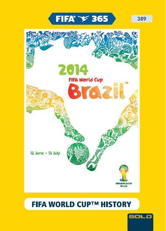 PANINI ADRENALYN XL FIFA 365 2021 389 GOLD FIFA WORLD CUP HISTORY