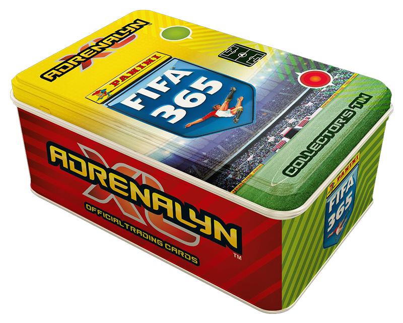 PANINI ADRENALYN XL FIFA 365 2021 GRANDE BOITE EN METAL MEGA BOX