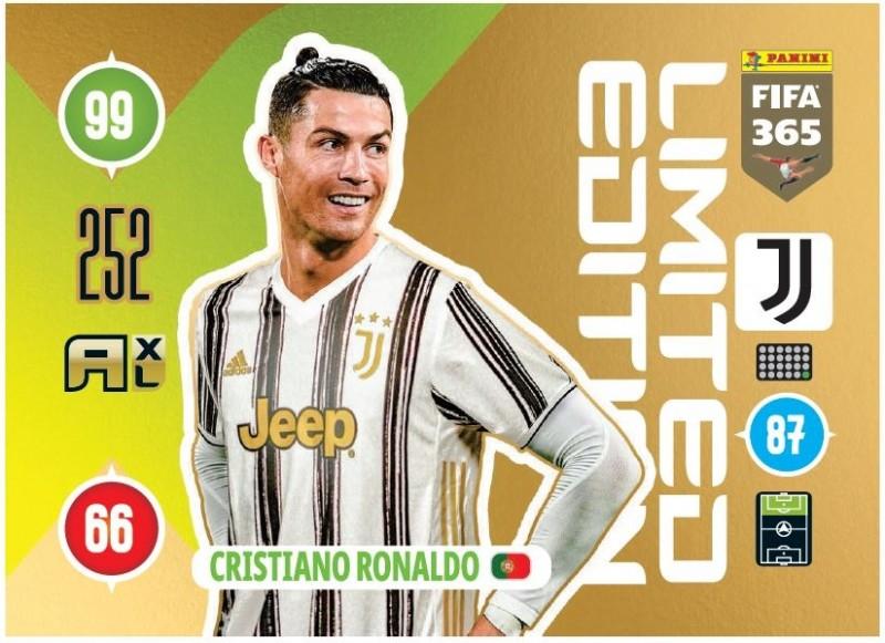 PANINI ADRENALYN XL FIFA 365 2021 LE CRISTIANO RONALDO JUVENTUS