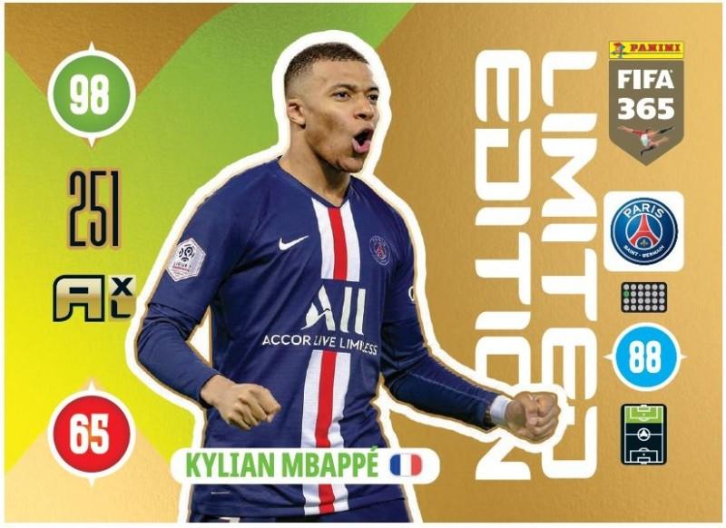 PANINI ADRENALYN XL FIFA 365 2021 LE KYLIAN MBAPPE PARIS
