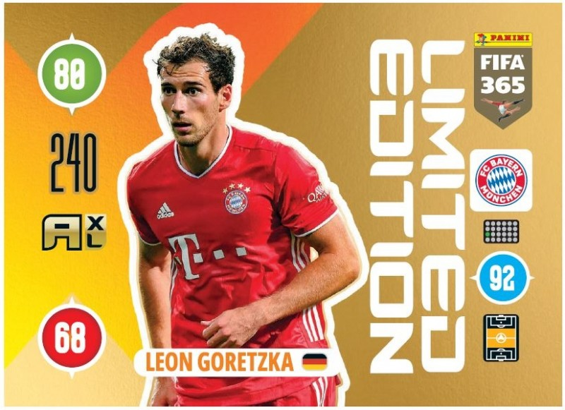 PANINI ADRENALYN XL FIFA 365 2021 LE LEON GORETZKA MUNICH