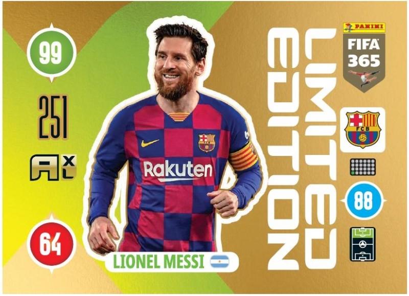 PANINI ADRENALYN XL FIFA 365 2021 LE LIONEL MESSI BARCELONE