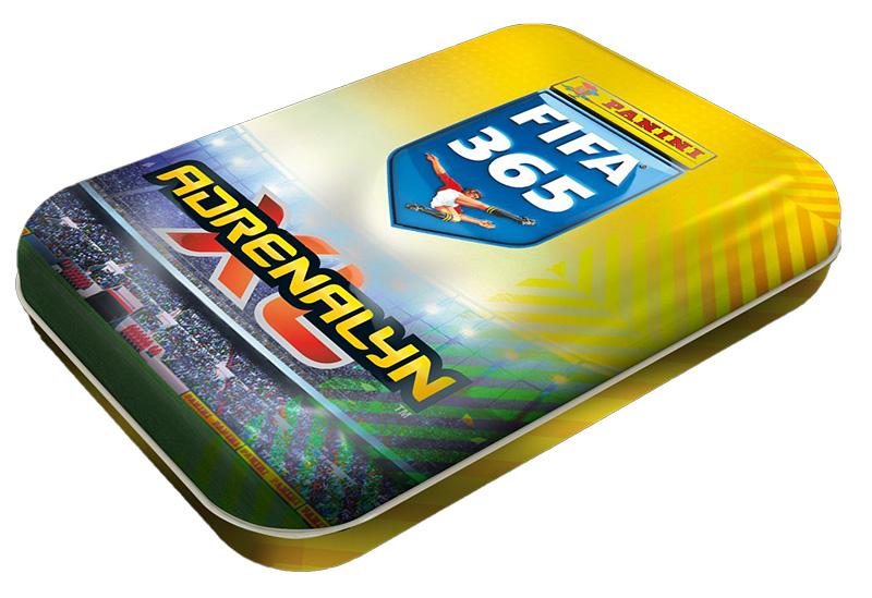 PANINI ADRENALYN XL FIFA 365 2021 PETITE BOITE EN METAL TIN BOX