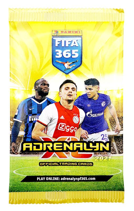 PANINI ADRENALYN XL FIFA 365 2021 POCHETTE MODELE 2