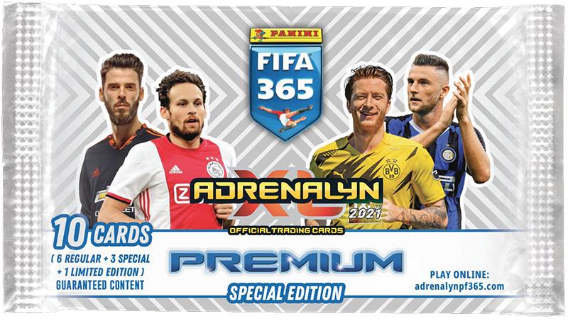 PANINI ADRENALYN XL FIFA 365 2021 POCHETTE PREMIUM