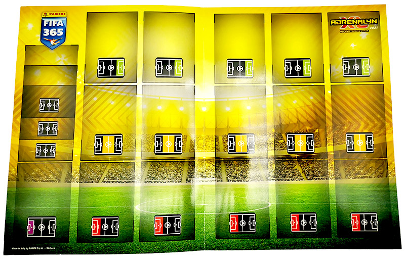 PANINI ADRENALYN XL FIFA 365 2021 TERRAIN DE JEU