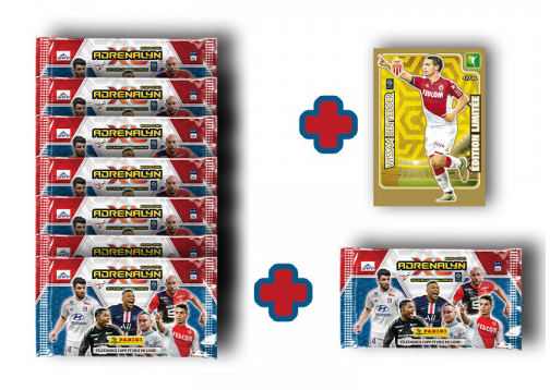 PANINI ADRENALYN XL LIGUE 1 2020-2021 BLISTER DE 8 POCHETTES BEN YEDDER