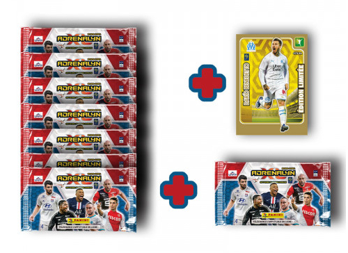 PANINI ADRENALYN XL LIGUE 1 2020-2021 BLISTER DE 8 POCHETTES BENEDETTO