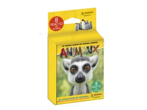 PANINI ANIMAUX 2020 BLISTER DE 8 POCHETTES