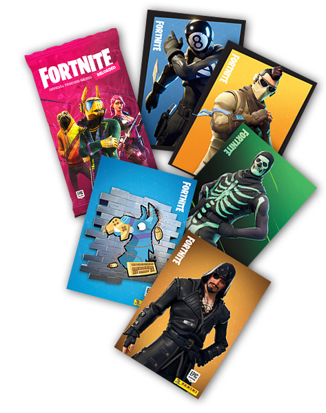 PANINI FORTNITE 2020 RELOADED TRADING CARDS VUE GENERALE