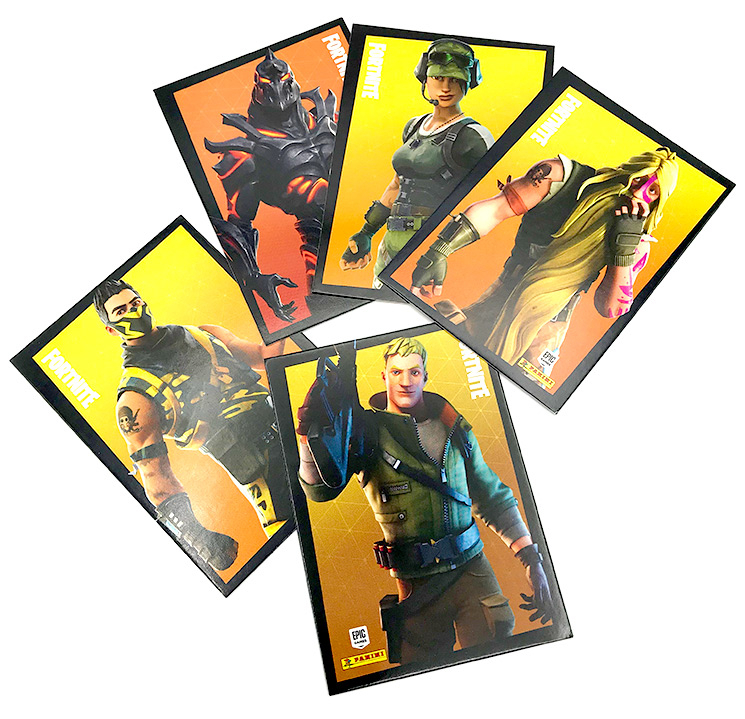 PANINI FORTNITE TRADING CARDS 2020 SERIE 2 ALLEMAGNE CARTES 01