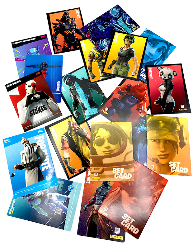 PANINI FORTNITE TRADING CARDS 2020 SERIE 2 ALLEMAGNE CARTES 03