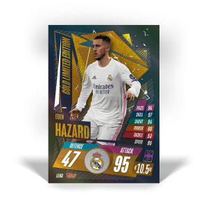 TOPPS MATCH ATTAX CHAMPIONS LEAGUE 2020-21 LE HAZARD GOLD