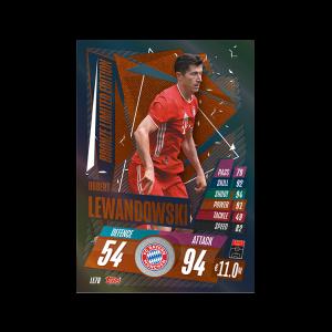TOPPS MATCH ATTAX CHAMPIONS LEAGUE 2020-21 LE LEWANDOWSKI BRONZE