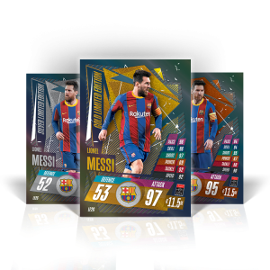 TOPPS MATCH ATTAX CHAMPIONS LEAGUE 2020-21 LE MESSI