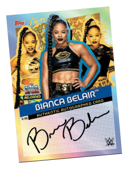 TOPPS WWE SLAM ATTAX RELOADED 2020 AUTOGRAPHED CARD BIANCA BELAIR