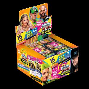 TOPPS WWE SLAM ATTAX RELOADED 2020 BOITE DE 24 POCHETTES DE 15 CARTES