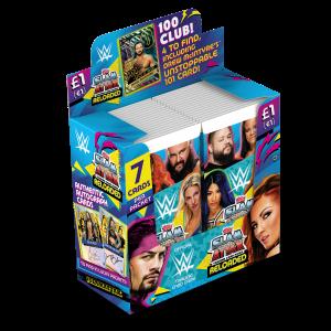 TOPPS WWE SLAM ATTAX RELOADED 2020 BOITE DE 36 POCHETTES DE 7 CARTES