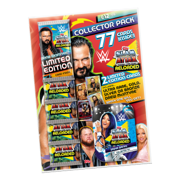 TOPPS WWE SLAM ATTAX RELOADED 2020 COLLECTOR PACK LE DREW MCINTYRE