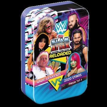 TOPPS WWE SLAM ATTAX RELOADED 2020 GRANDE BOITE COLLECTOR MEGA TIN LE STEVE AUSTIN